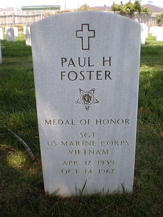 Paul H. Foster - Foster's gravestone at Golden Gate National Cemetery