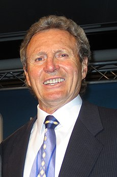 Paul Henderson at an awards ceremony