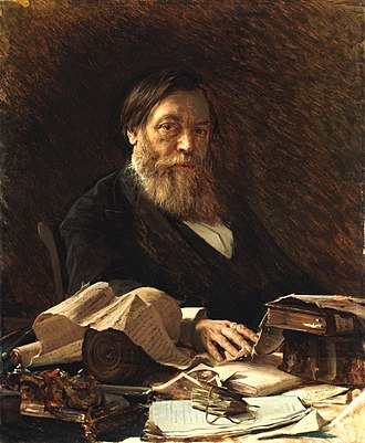 Pavel Ivanovich Melnikov - Portrait by Ivan Kramskoy.