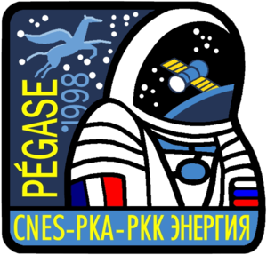 Léopold Eyharts - Image: Pegase Soyuz TM27