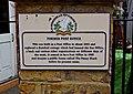 Penny Black (3) - plaque, 5 North Street - geograph.org.uk - 2121304.jpg
