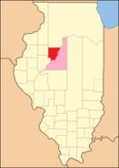 Peoria County Illinois 1825