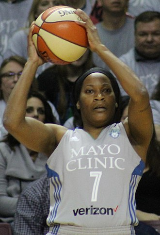 Jia Perkins - Perkins in game 5 of the WNBA Finals in 2017