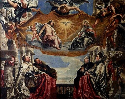 Peter Paul Rubens - The Gonzaga Family Worshipping the Holy Trinity - WGA20179