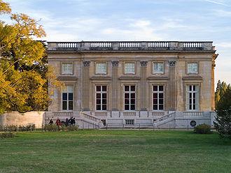 Petit Trianon - Petit Trianon, northern facade