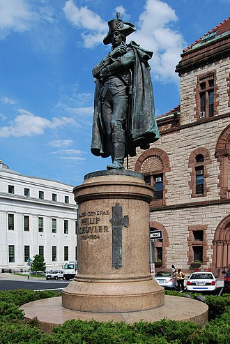 Philip Schuyler - Statue outside Albany City Hall