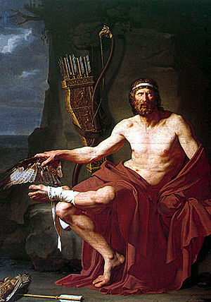 Philoctetes (Sophocles play) - Philoctetes by Jean-Germain Drouais