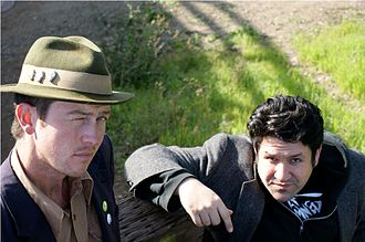 Bobby Joe Ebola and the Children MacNuggits - Dan Abbott and Corbett Redford III in March 2010