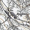 Pidlisne (Rudnia), 1917, map.jpg