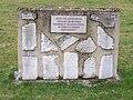 Pieces of headstones Second jewish cemetery Schnaittach DE 2007-03-06.jpg