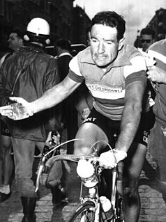 Pierino Baffi Road bicycle racer