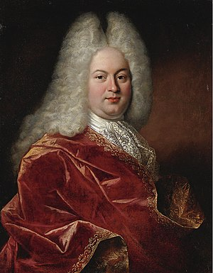 Pierre Ernou - Portrait of an Unknown Man, 1713