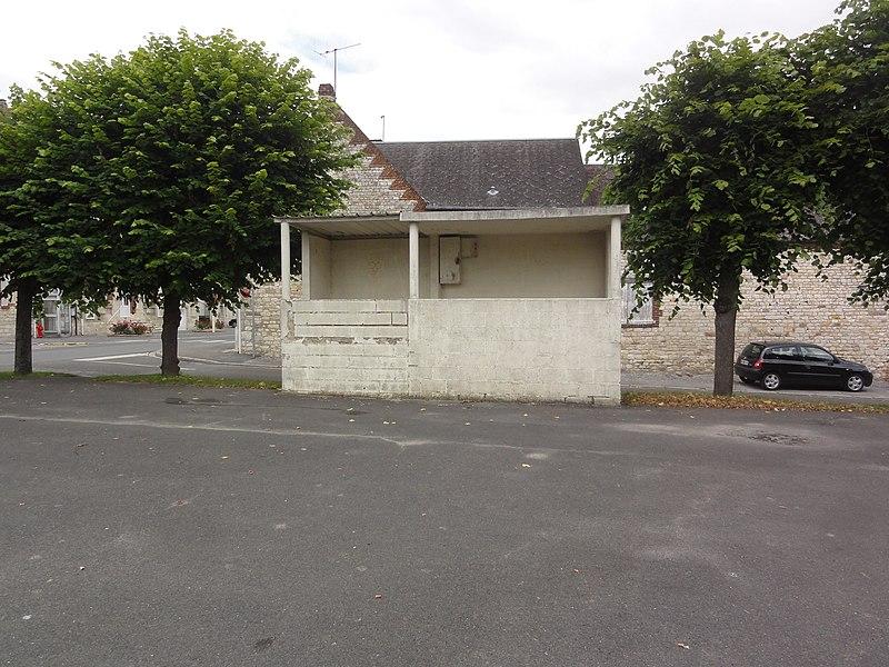 Pierrepont (Aisne) kiosque à musique