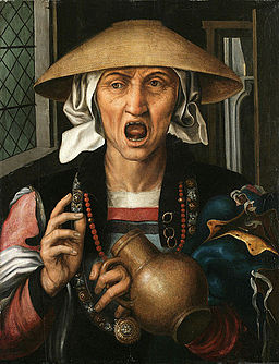 Pieter Huys - Woman Enraged