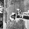 Pijler 10, noordwestzijde, restauratie tapijt schildering met wapenschild - Amsterdam - 20013128 - RCE.jpg