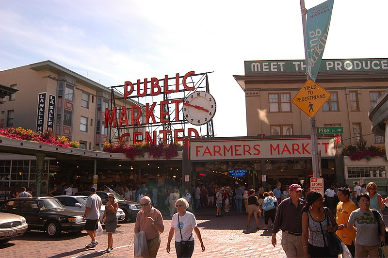 I love Pike's Place,