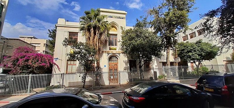 בית הספר אחד העם בתל אביב