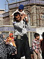 Pilgrims and People around the Holy shrine of Imam Reza at Niruz days - Mashhad - Khorasan - Iran 057.JPG