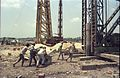Piling - Convention Centre Complex Under Constrution - Science City Site - Calcutta 1994-April 110.JPG
