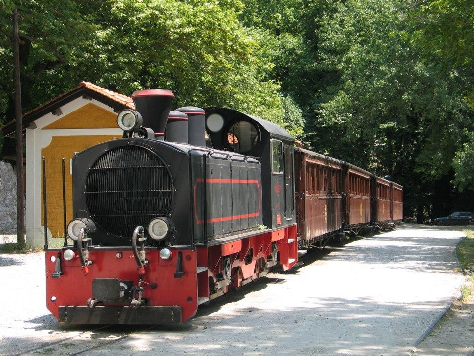 Pilionbahn in milies