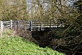Pincey Brook bridge on Church Lane, Sheering, Essex, England 02.jpg