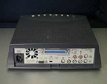 rear view of the katz media kmp 2000 with a unique external scsi interface