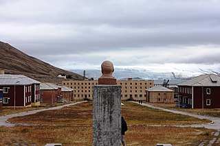 Pyramiden Abandoned town in Svalbard, Norway