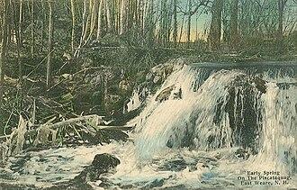 Weare, New Hampshire - Piscataquog River in 1912