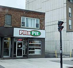 photograph regarding Pita Pit Printable Menu referred to as Pita Pit - Wikipedia