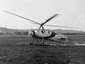 Pitcairn OP-1 - An XOP-1 under evaluation by the U.S. Navy