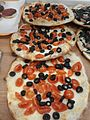 Pizza with cherry tomatoes and olives.jpg