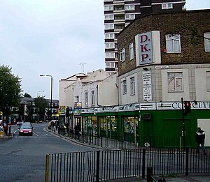 Plaistow, Newham - Image: Plaistow High St geograph.org.uk 61612