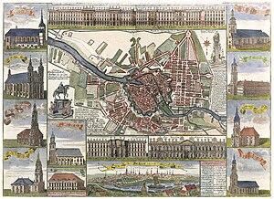 Berlin, circa 1740