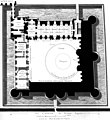 Plan of the Louvre with the modifications by Lescot - Berty 1868 after p168 – Gallica 2013 (adjusted).jpg