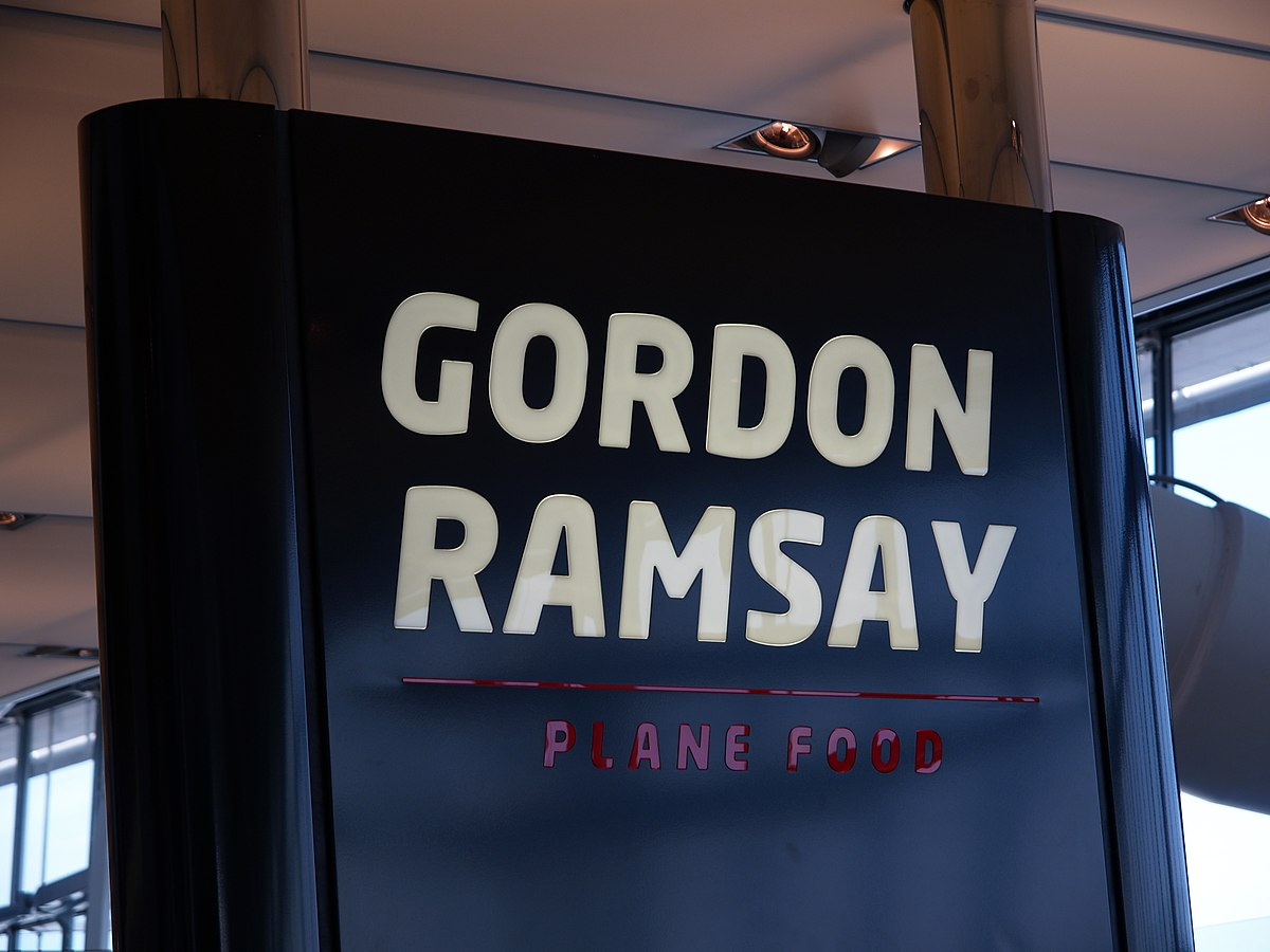 Gordon Ramsay Plane Food - Wikipedia