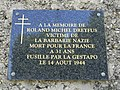 Plaque Roland Michel Dreyfus Sathonay-Village.JPG