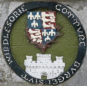 Windsor Bridge - Plaque on Windsor Town Bridge.