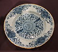 Plate, The Fortune Pottery, Delft, Netherlands, c. 1706-1740, tin-glazed earthenware - Cincinnati Art Museum - DSC04424.JPG