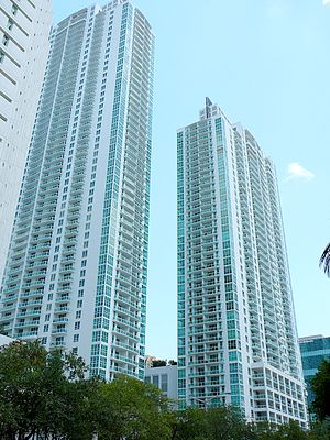 Plaza on Brickell - Image: Plaza on Brickell