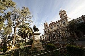 Tupiza - Tupiza plaza