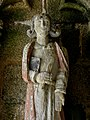 Plouha (22) Chapelle de Kermaria-an-Isquit Porche sud Apôtres 11.JPG