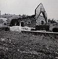 Požgani dvorec Bajnof II. leta 1943, foto F. Mesesnel.JPG