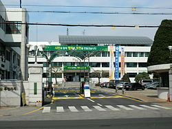 Pocheon Hangul: 포천시 Hanja: 抱川市 RR: Pocheon-si MR: P'och'ŏn-si
