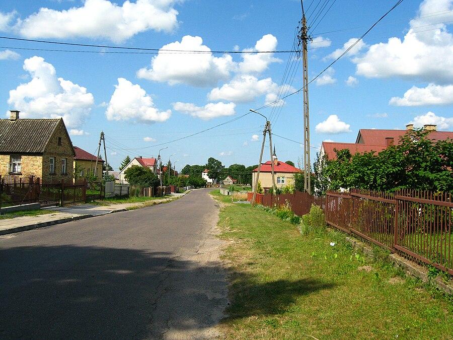 Ogrodniki, Białystok County