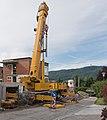 Poertschach Gaisrueckenstrasse Neubau Court-Wohnanlage Prangl-Teleskopkran 25052015 3990.jpg