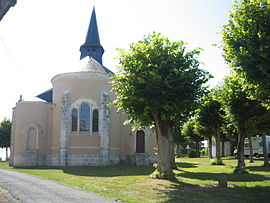 The church in Poisieux