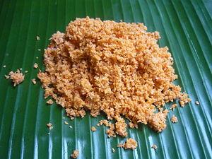 Sri Lankan cuisine - Pol sambola