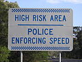 Police Enforcing Speed.JPG