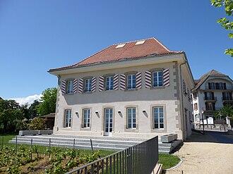 Saint-Sulpice, Vaud - Police station in Saint-Sulpice