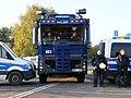 Police in front of a motorway junction at Ende Gelände 28-10-2018 03.jpg